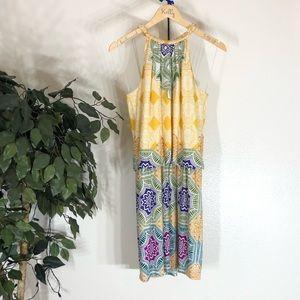 Mandala Design London Times Bright Colored Dress